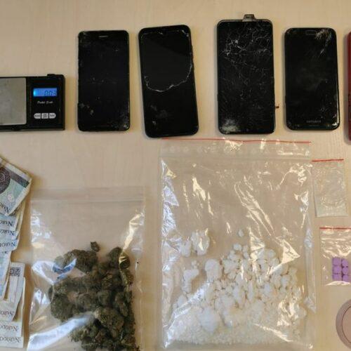 Trzy miesiące aresztu za posiadanie i handel narkotykami