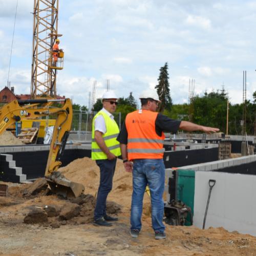Zaglądamy na plac budowy warsztatów edukacyjnych