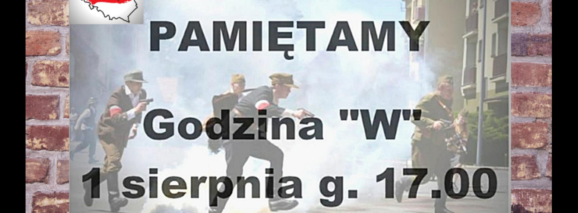 1 sierpnia uczcij pamięć bohaterów Powstania Warszawskiego!